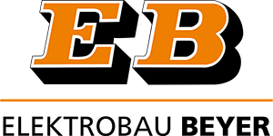 Logo von Elektrobau Beyer in Orange