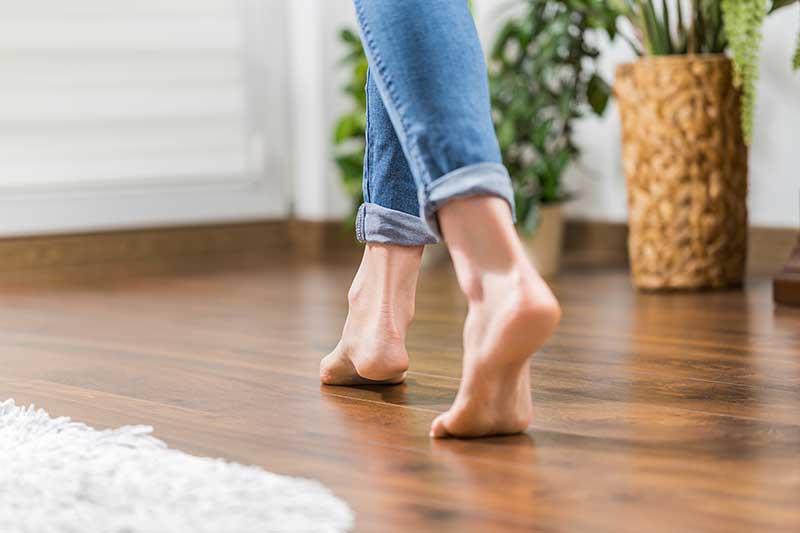 Fußbodenheizung-Folienheizung für eine gleichmäßige Wärme